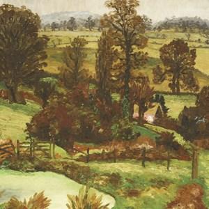 Sir Cedric Morris (1889-1982) A SUFFOLK LANDSCAPE