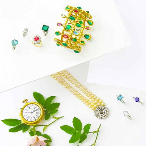 Fine Jewellery, Watches and Designer Handbags - Live Online