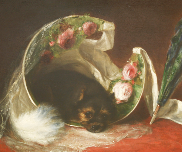 Thomas William Earl (1815-1885) BASKET OF ROSES