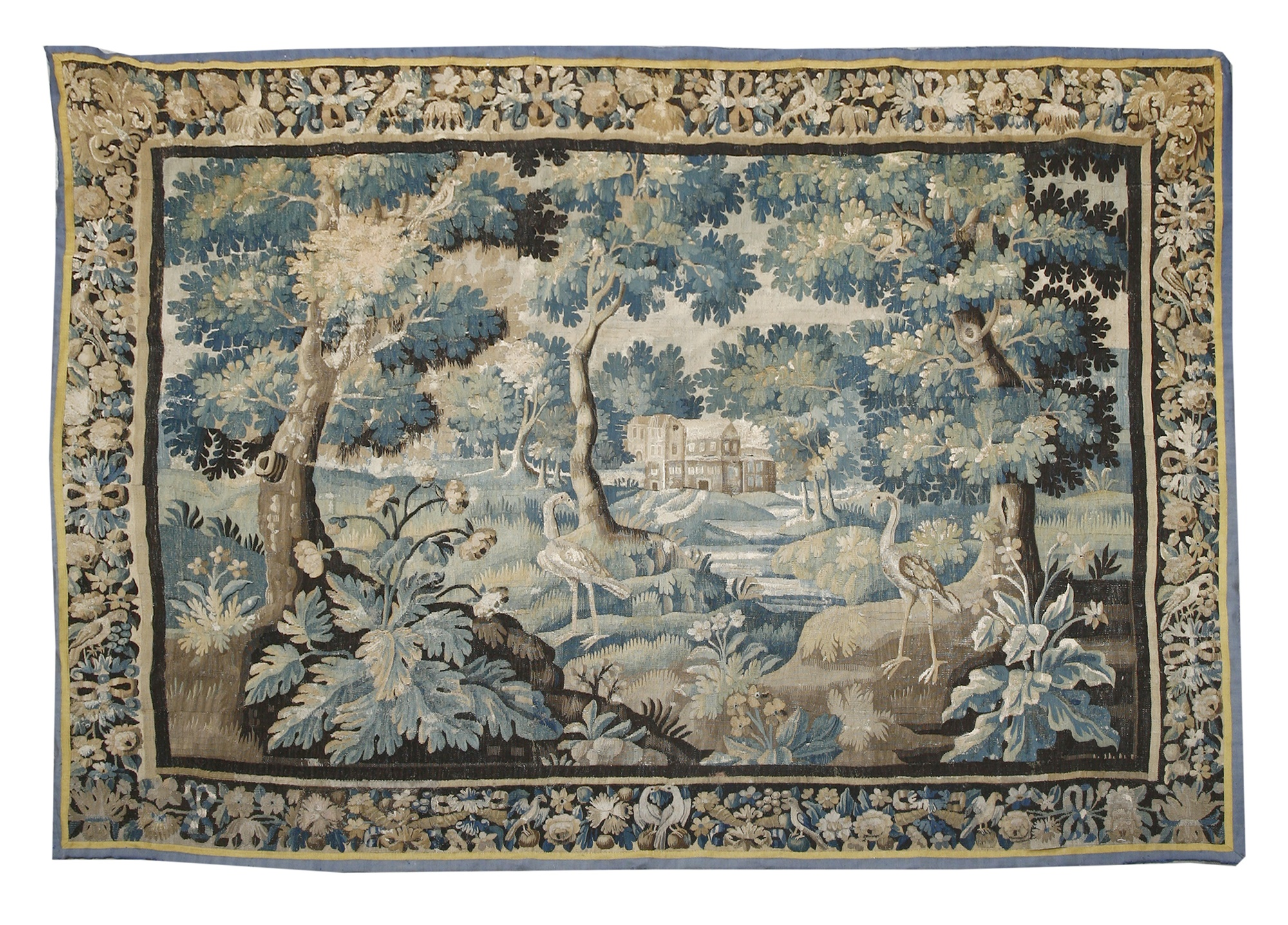 A Flemish verdure tapestry, early 18th century