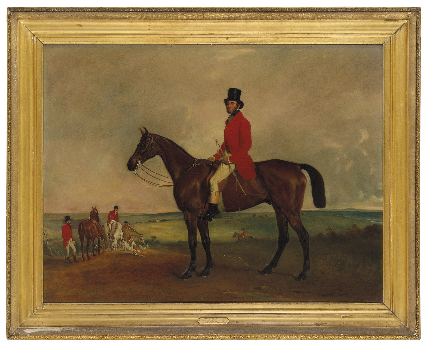 John Ferneley Sr (1782-1860) PORTRAIT OF SIR FRANCIS GRANT ON GRINDAL