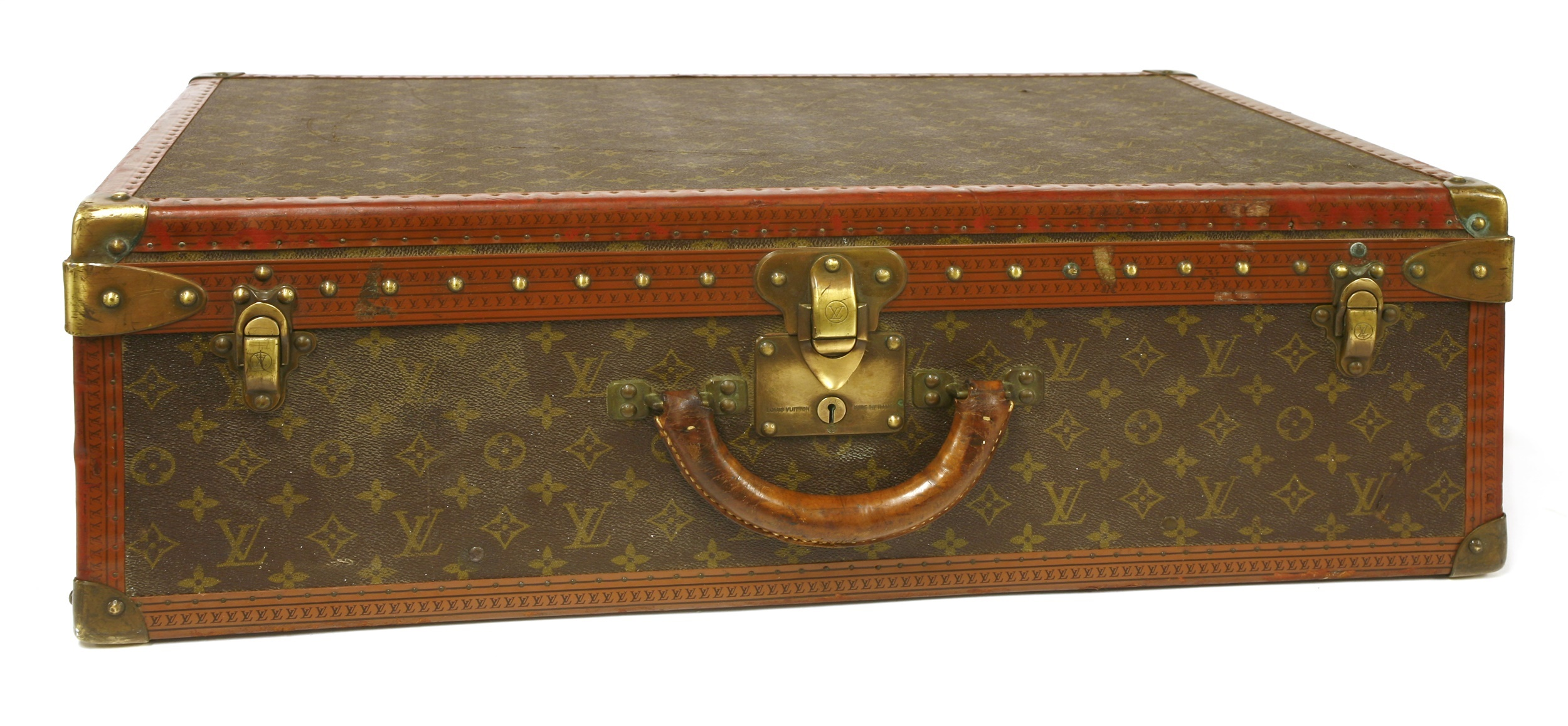 An early 20th century Louis Vuitton suitcase