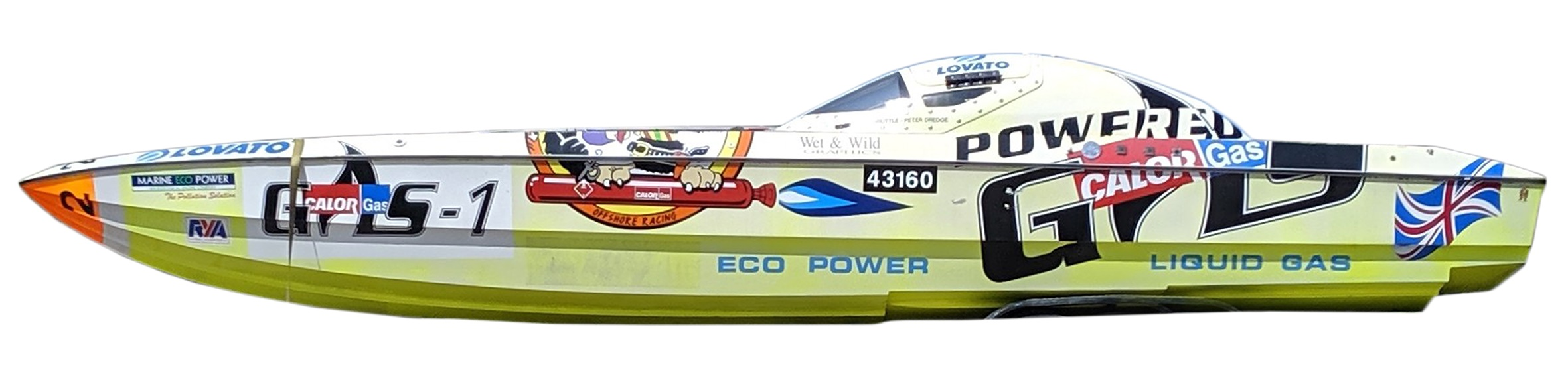 A Skater 28ft 'Cultured Vulture' powerboat