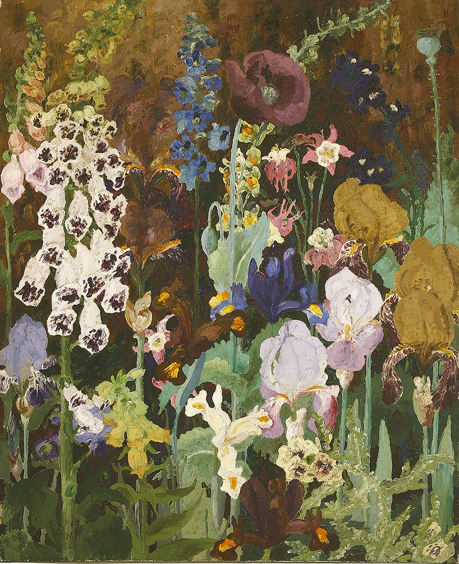 Cedric Morris - Foxgloves