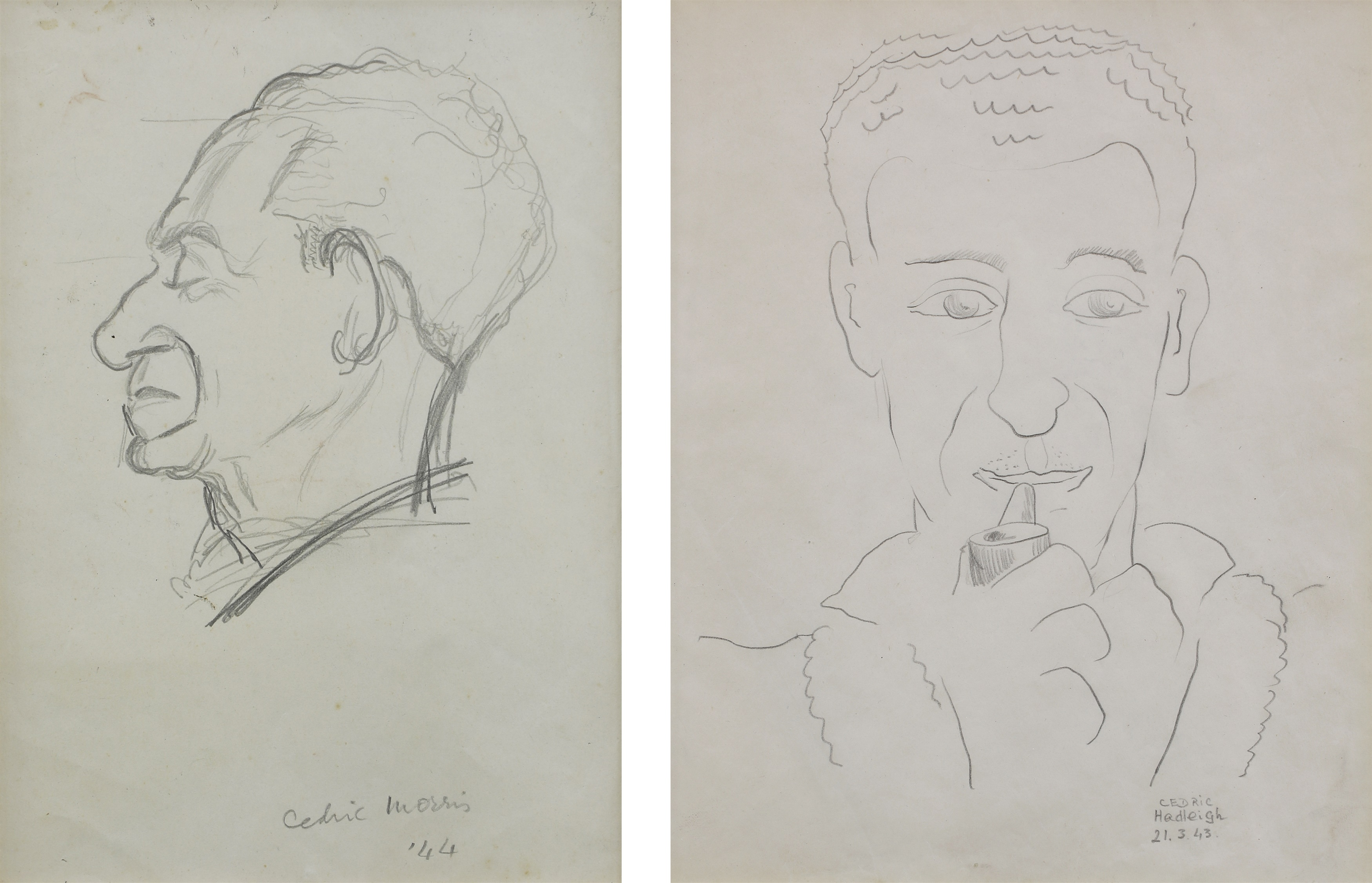 Sketches Of Cedric Morris
