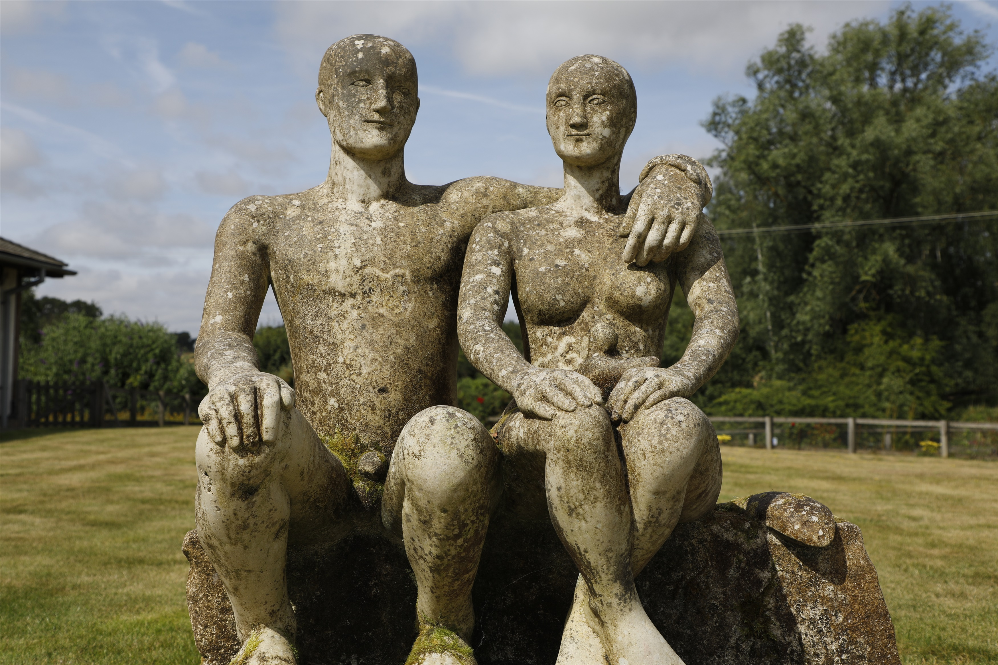 Emily Young (b. 1951) 'THE FORMALITY OF COUPLES', estimate £30,000 - 40,000