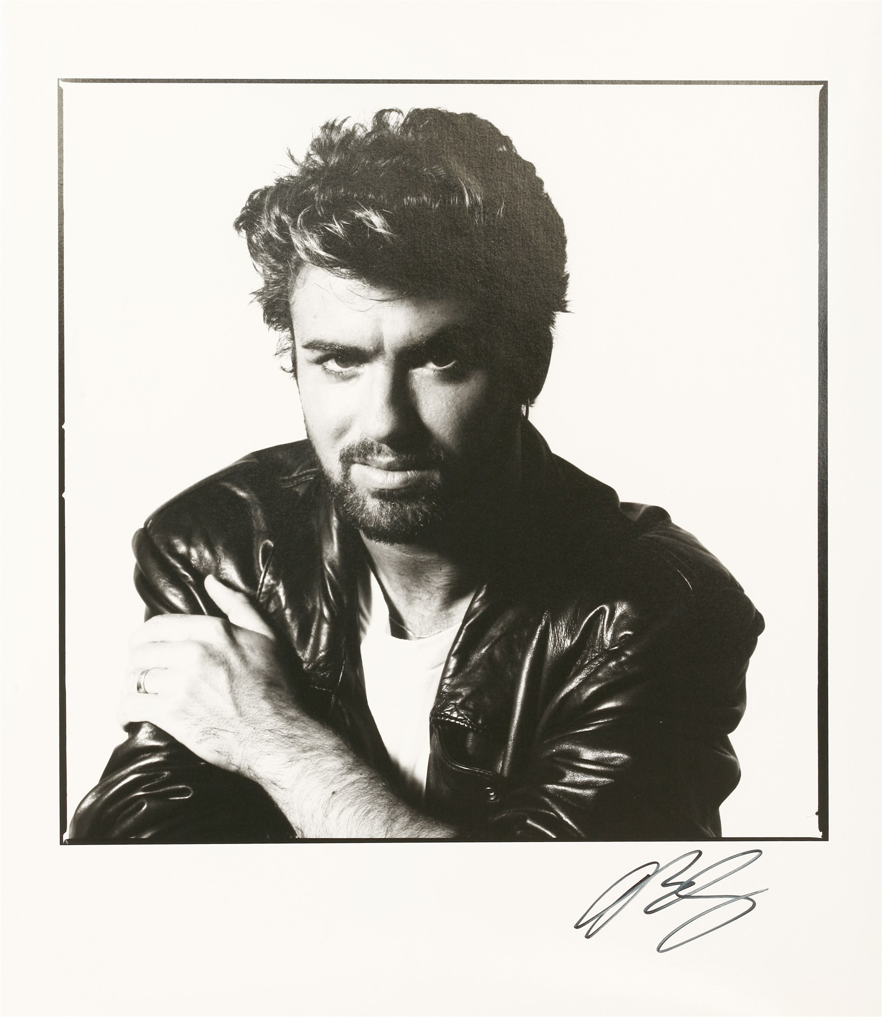 David Bailey Photograph George Michael Live Aid July 1985
