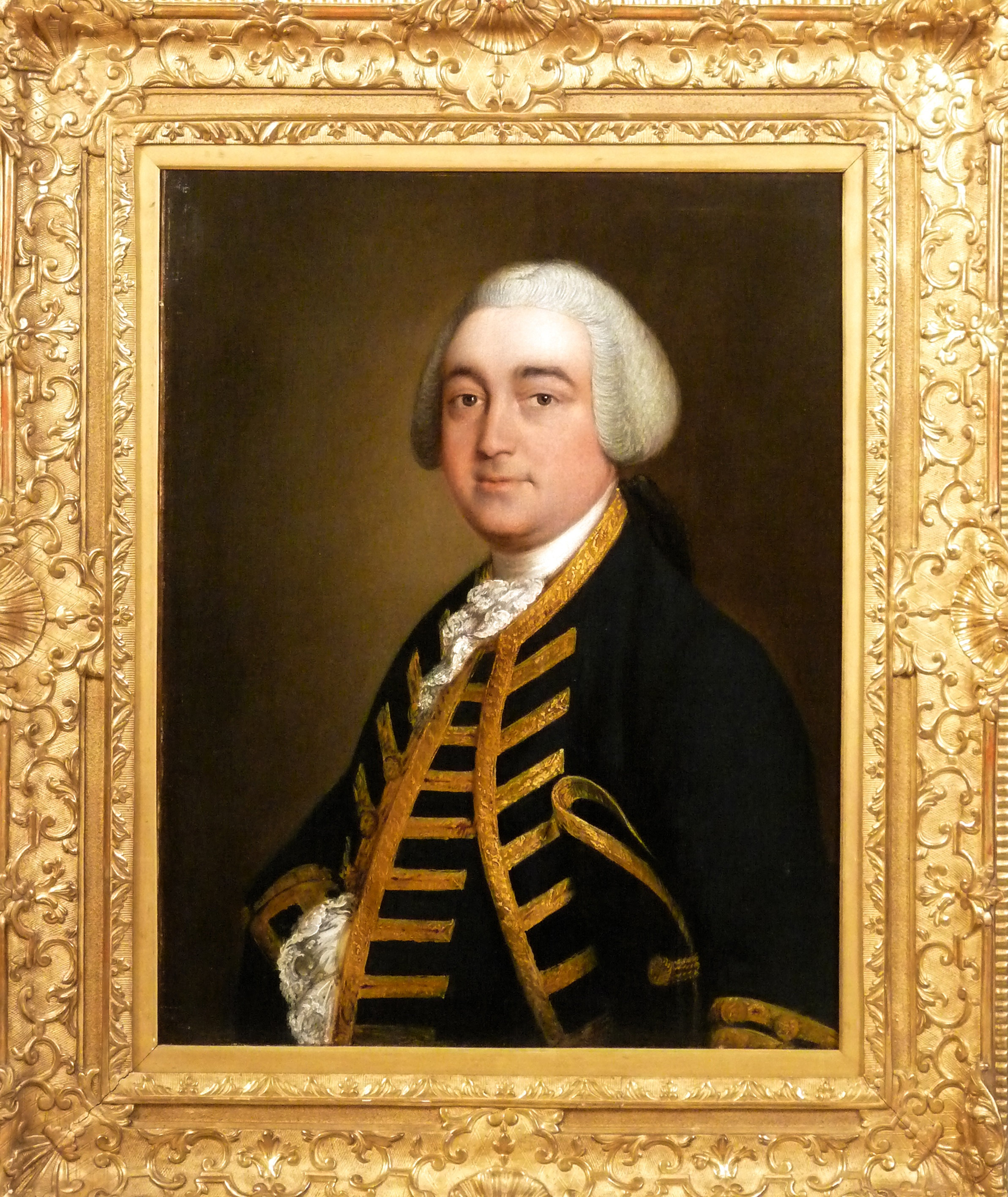 Thomas Gainsborough, a portrait of Christopher Griffith Jnr of Padworth