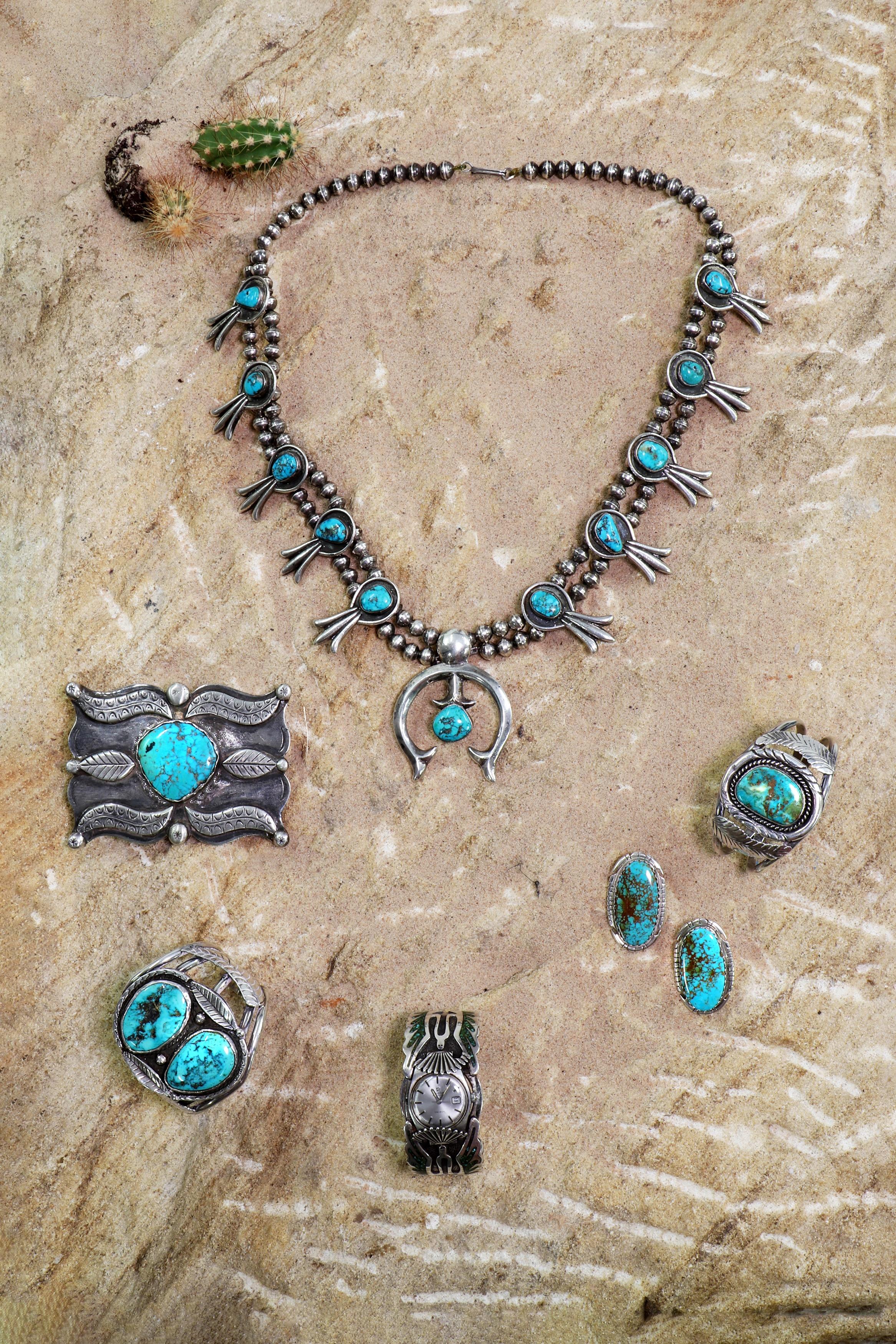 Navajo Jewellery at Sworders Fine Art