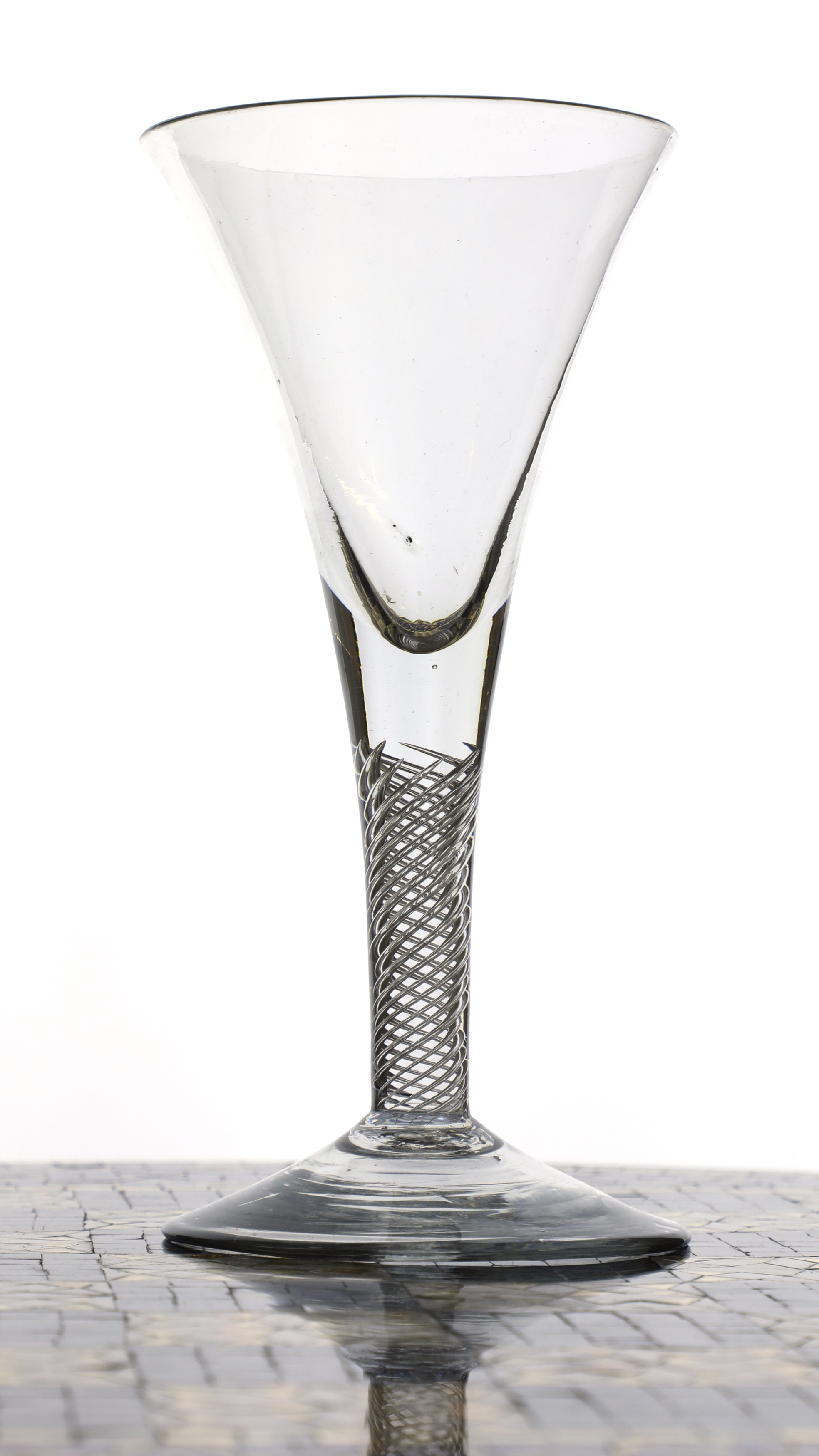 An English drinking glass c.1750