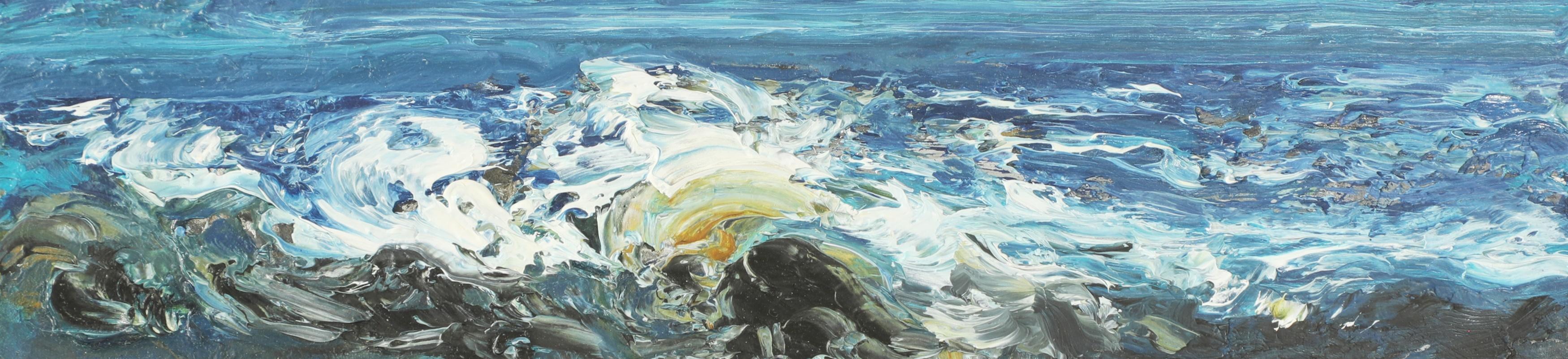 Maggi Hambling, portrait of the sea