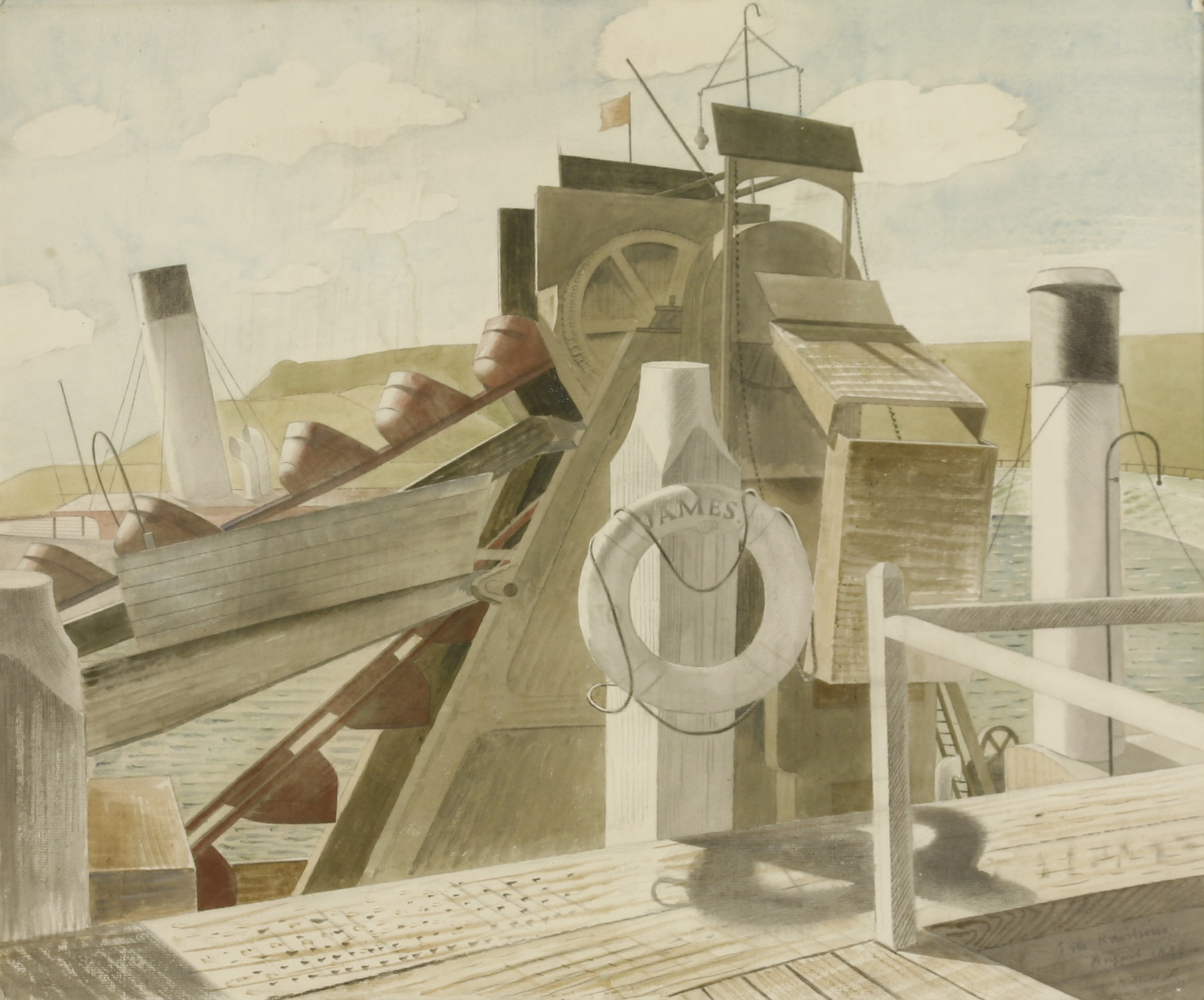 Eric Ravilious The James and The Foremost Prince