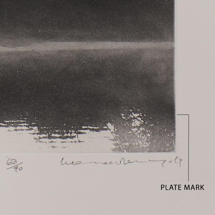 PRINT PLATE MARK