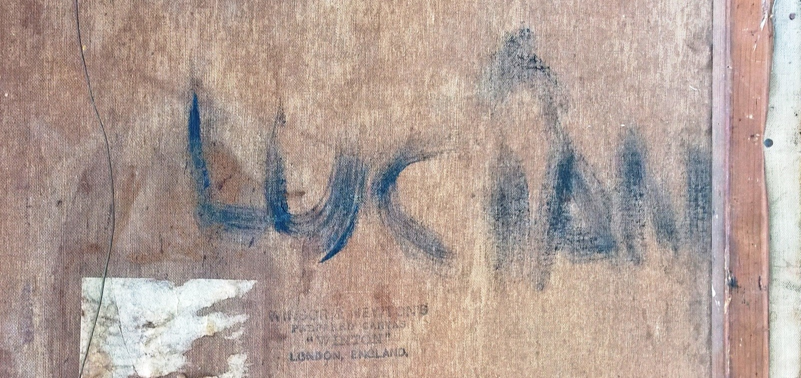 Lucian Freud Signature