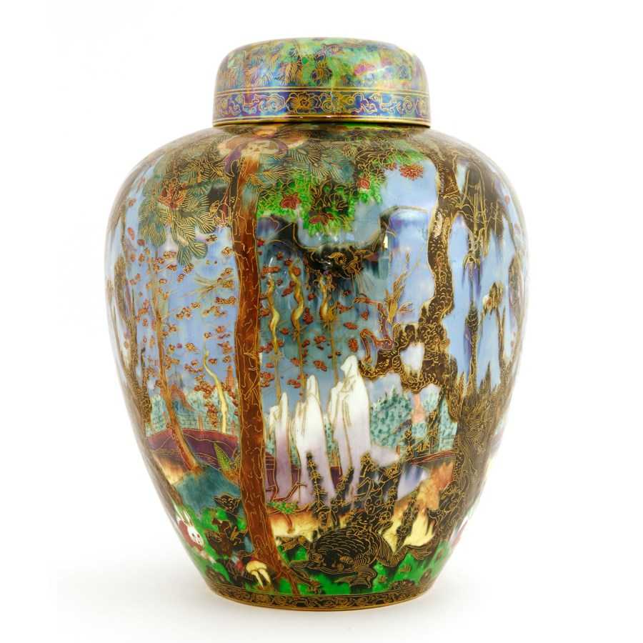 Wedgwood Fairyland Lustre Vase by Daisy Makeig-Jones to be sold by Sworders Fine Art