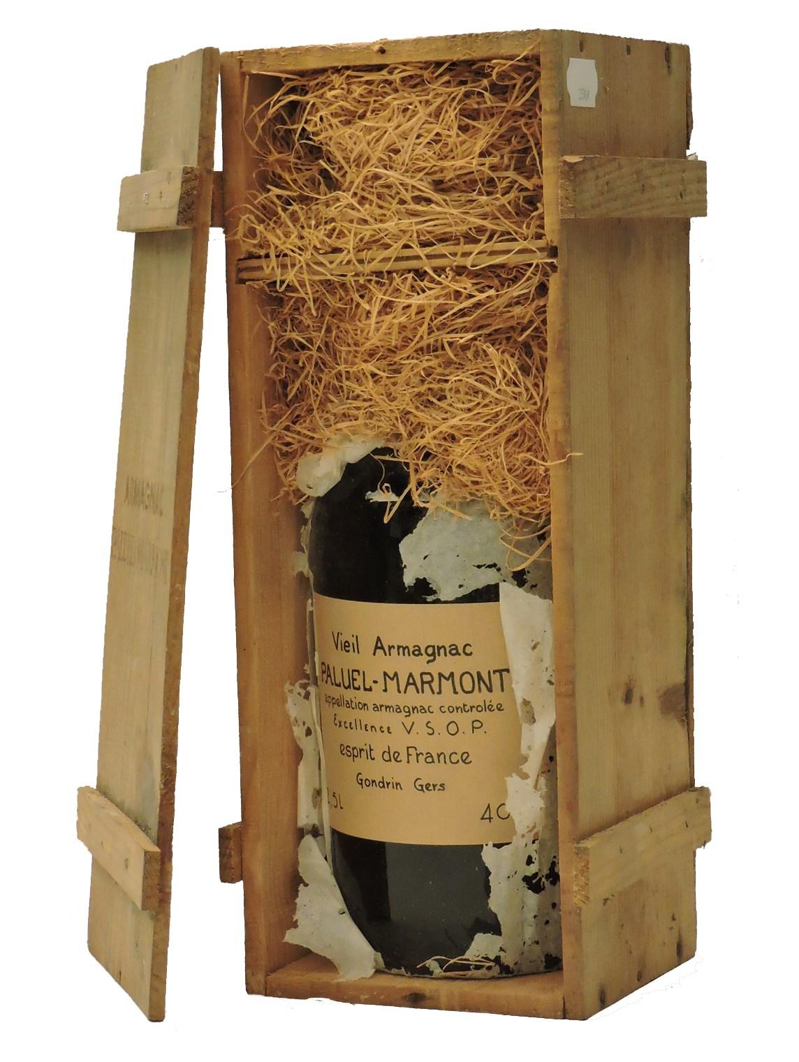 Lot 223 - Sworders Fine Wine & Port - Vieil Armagnac, Paluel Marmont