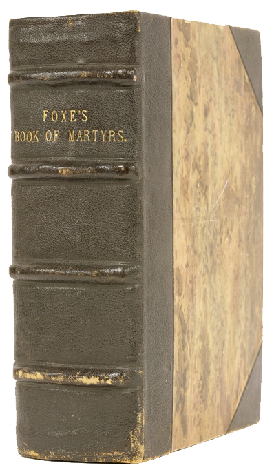 John Foxe's Book of Martyrs Binding