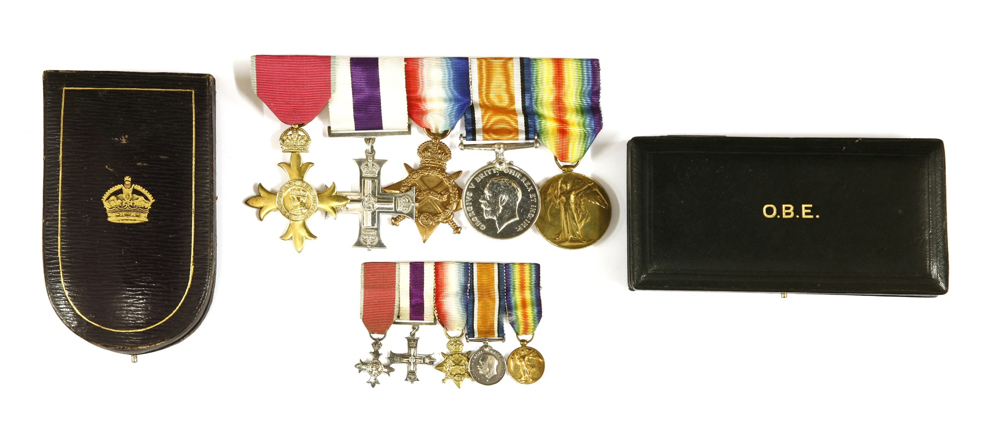 Medals awarded to Captain Thomas Ralph Sneyd-Kynnersley