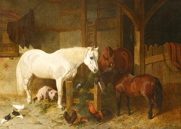 John Frederick Herring Snr, Stable Companions