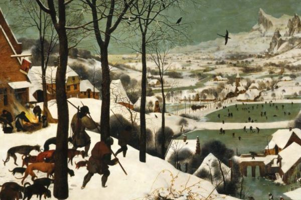 Pieter Brueghel the Elder, Hunters in the snow