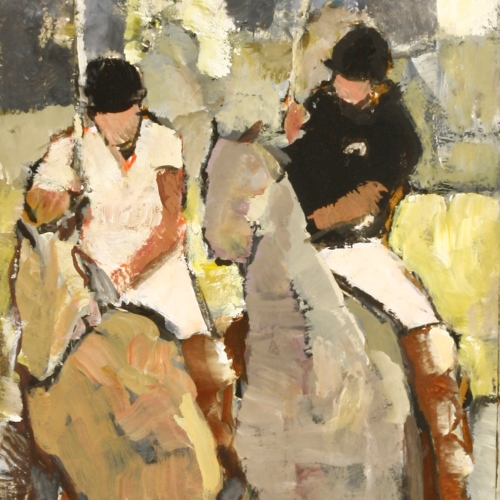 Polo Players by Robert Sadler