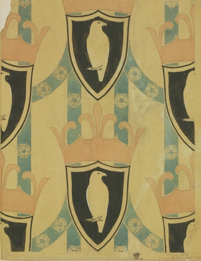 Charles Voysey Wallpaper Design