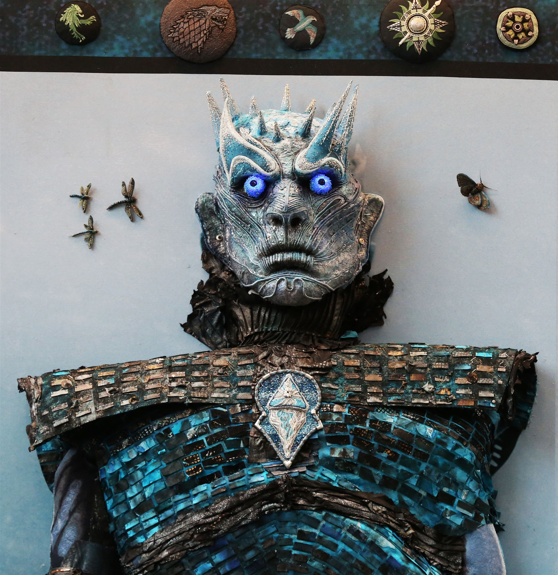 White Walker Head - Game of Thrones Embroidery