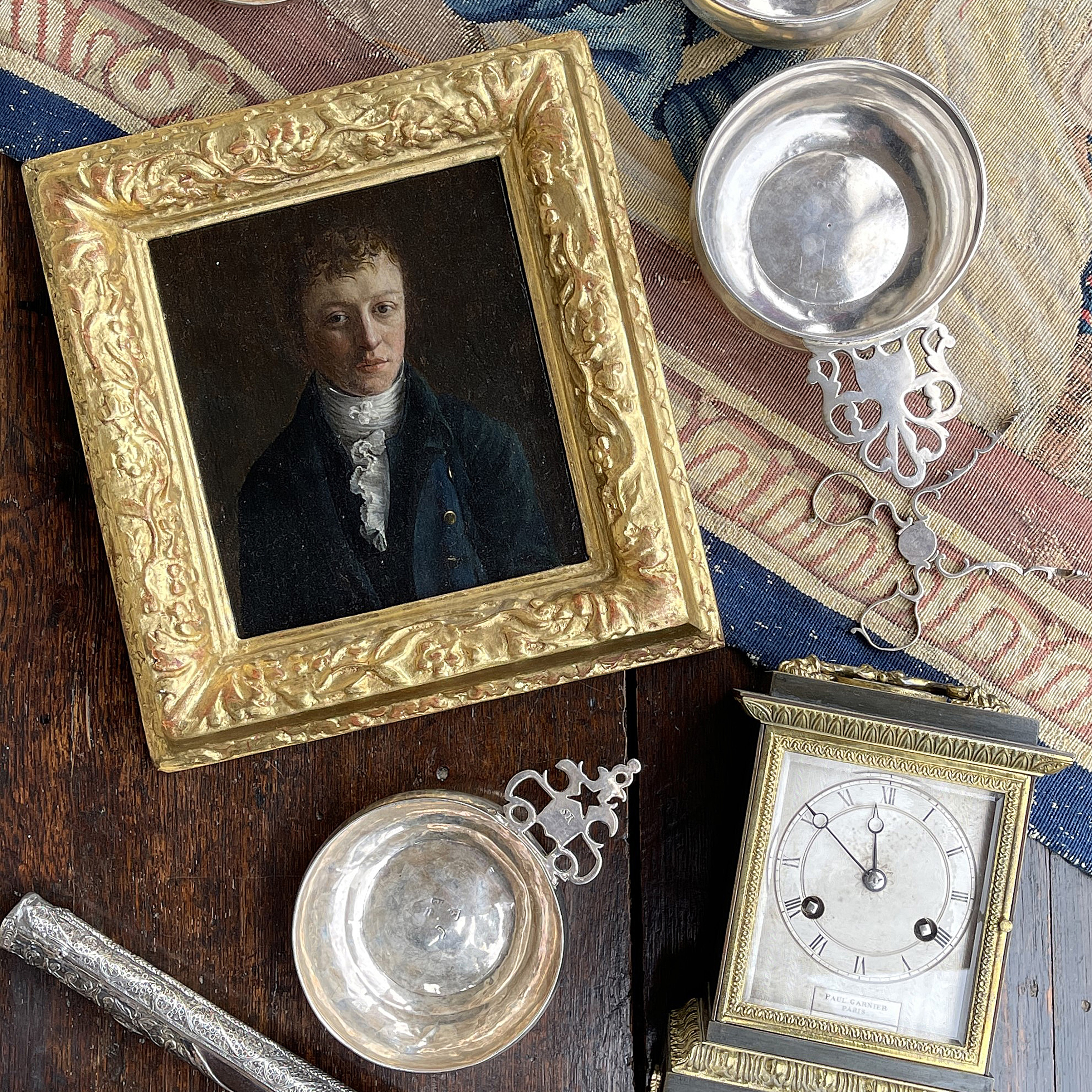 Silver, Clocks & Objets d'Art