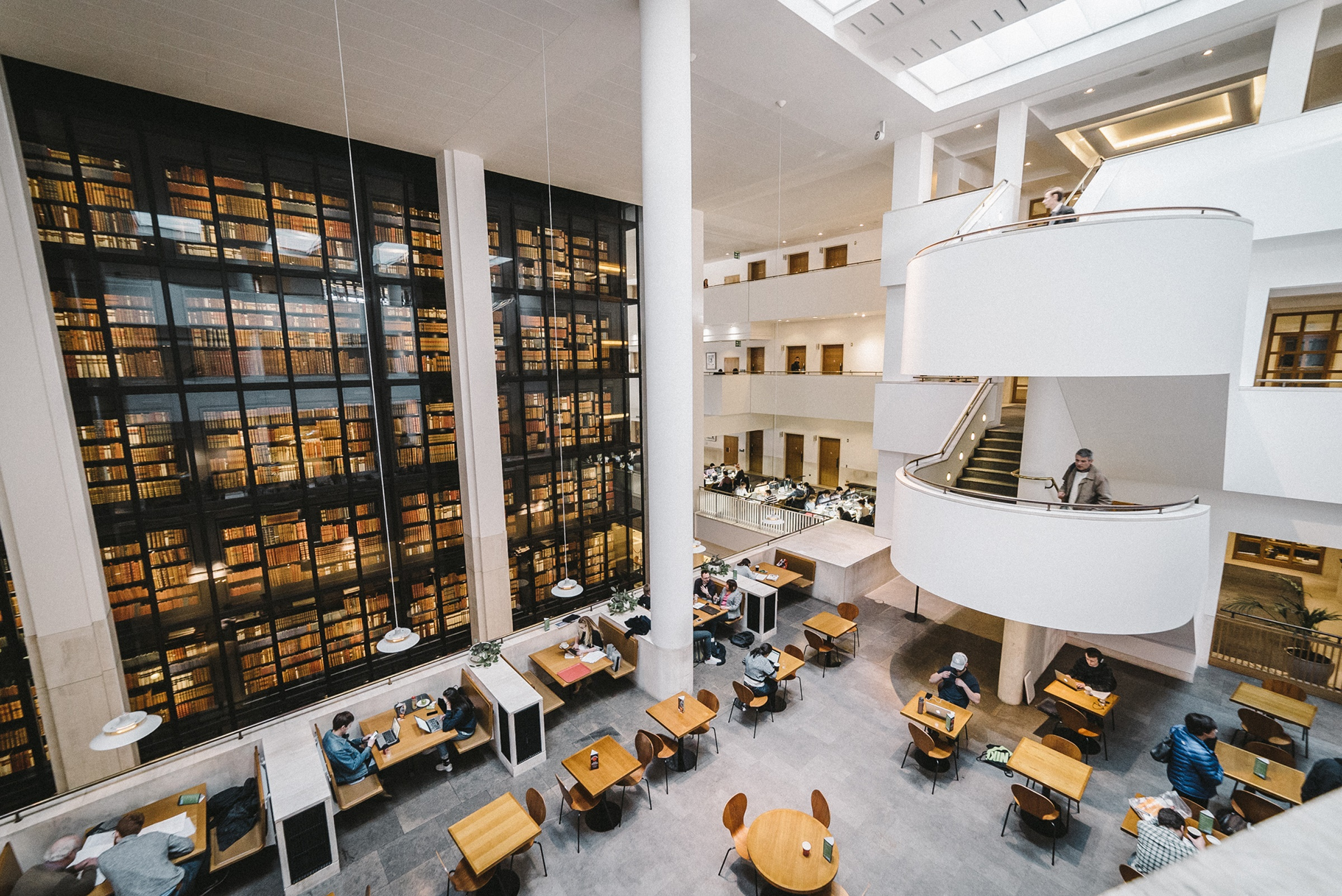 Interior Of British Library