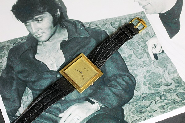 Worn By The King! Elvis Presley's Watch Comes To Auction