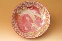58 - A William De Morgan ruby lustre dish