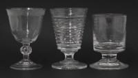 Lot 69 - An engraved Water Glass