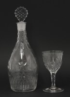 Lot 86 - A club-shaped Decanter and Stopper