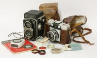 Lot 106 - A Rolleiflex Automat Type 2 Camera No. 1008684