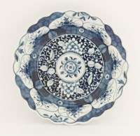 Lot 24 - A Worcester blue and white Bowl