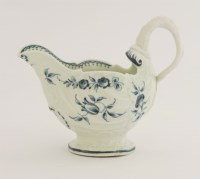 Lot 28 - A Worcester blue and white Cream Boat