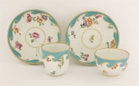 Lot 32 - A Chelsea Derby Tea Bowl and Saucer