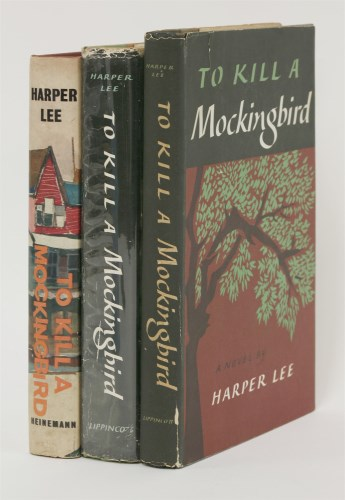 Lot 134-HARPER LEE: 1.  To Kill A Mockingbird.  Lippincott