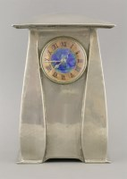 114 - A Tudric pewter clock