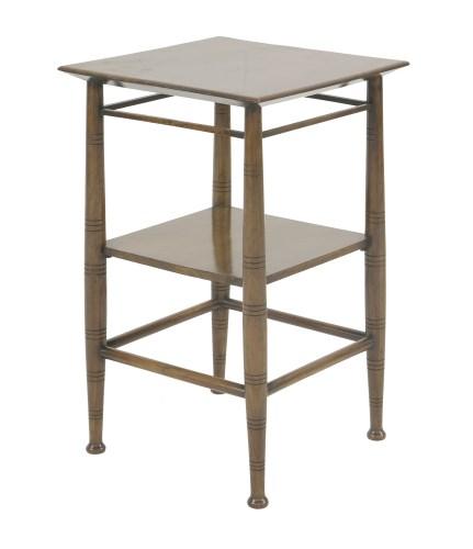 Lot 86 - A walnut side table