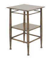 86 - A walnut side table