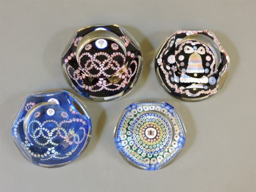 Lot 1350 - Four Whitefriars paperweights