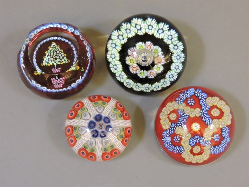 Lot 1392 - Two Whitefriars glass paperweights
