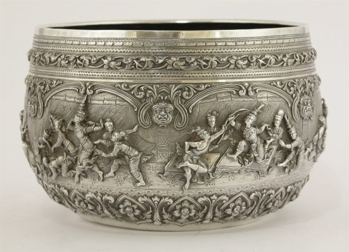 25 - An early 20th century Burmese bowl