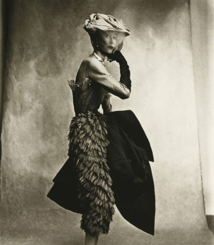 Lot 479 - Irving Penn (1917-2009) COCOA DRESS (BALENCIAGA)