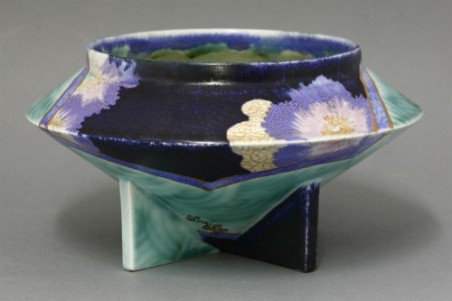 94 - A Clarice Cliff 'Inspiration' conical bowl