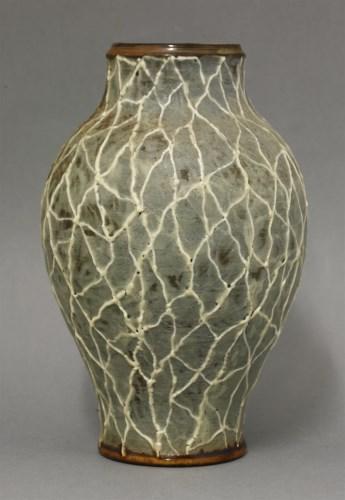 Lot 41 - R W Martin & Brothers glazed stoneware vase