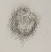 Lot 78 - *Bren Unwin (b.1956) 'EMPTY NEST' Drypoint etching and acrylic