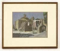 Lot 23 - *John Aldridge RA (1905-1983) 'SOUVENIR OF TUSCANIA