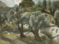 Lot 22 - *John Aldridge RA (1905-1983) 'DEYA